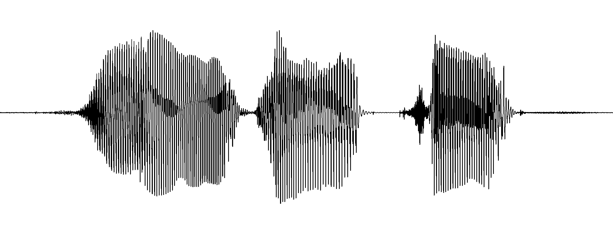 A waveform extracted from Praat of [zi.ɛl tso]